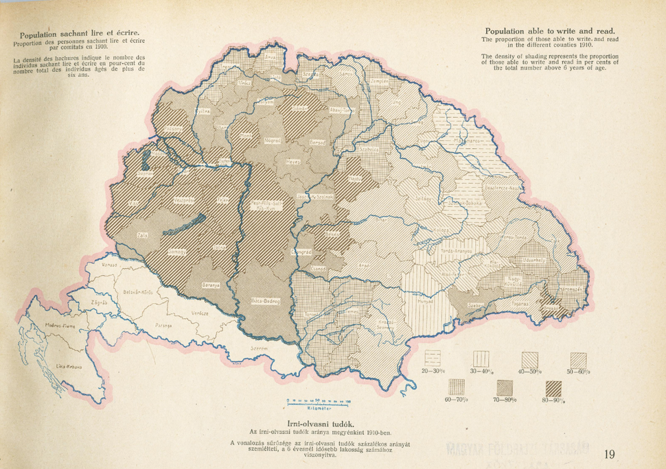 Literacy in Hungary in the 1910s