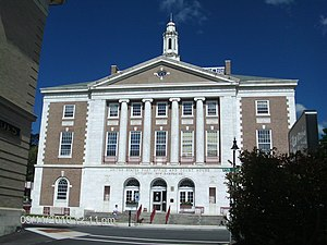 Littleton, New Hampshire - Image: Littleton NH Courthouse and Post Office