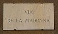 Livorno Via della Madonna street name 01.JPG