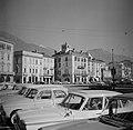 Locarno Parkerende auto's op het Piazza Grande (Hoofdplein), Bestanddeelnr 254-4791.jpg
