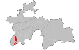 Location of Jilikul District in Tajikistan.png