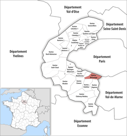 Locator map of Kanton Montrouge.png