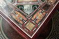 Loggetta del tempo, tavolo con piano intarsiato in pietre dure e disegni raffaelleschi 07.JPG
