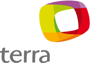 Terra (company) - Image: Logo terra secundaria ventana laranja sem slogan