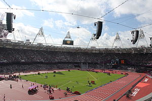 London Olympics 2012 - Friday August 3rd in the Olympic Stadium 4959.jpg