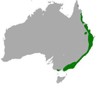 Long-nosed bandicoot - Image: Long nosed Bandicoot area