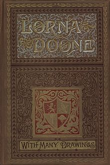 Cover of an illustrated 1893 edition of Lorna Doone