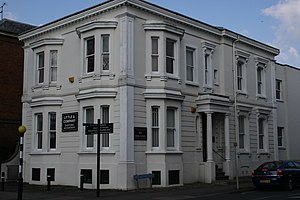 Henry Allen (Mayor of Gloucester) - Lorraine House at 45 Park Road, Gloucester in 2009.  Associated with Priday Metford Ltd