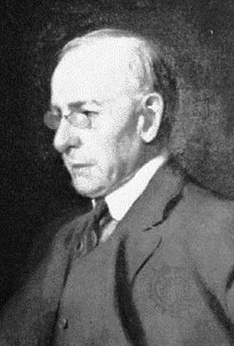 Louis Sullivan - Sullivan in 1919, painting by Frank A. Werner