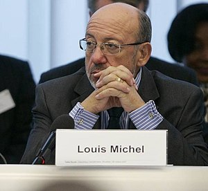 Louis Michel - Michel at the Central African Republic Development Partner Round Table