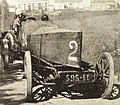 Louis Rigolly recordman mondial officieux de vitesse à 166.666 kmh, en juillet 1904 à Ostende sur le kilomètre lancé avec Gobron-Brillié.jpg