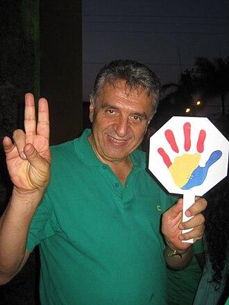 Luis Eduardo Garzón - Image: Lucho Garzon
