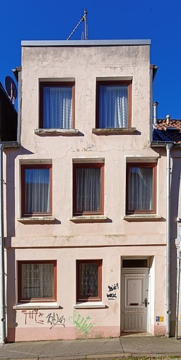 Weberstraße in Lübeck