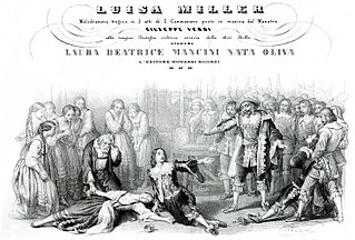 <i>Luisa Miller</i> opera by Giuseppe Verdi