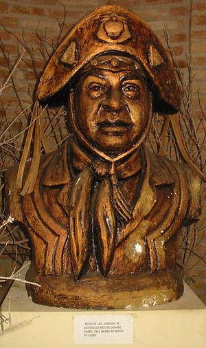 Luiz Gonzaga - Bust of the artist at the Luiz Gonzaga Museum. Caruaru (Brazil)