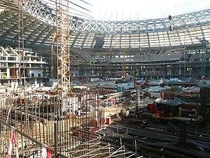 Luzhniki stadium wikipedia for Renovation wiki