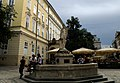 Lwów , Polish , now Lviv , Львов - Rynek - Fontanna Amfitryty - panoramio.jpg