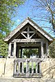Lych Gate at Ashleworth built in memory of Eveline Savage - geograph.org.uk - 775178.jpg