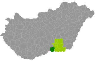 Mórahalom District Districts of Hungary in Csongrád