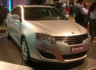 SAIC Motor - The MG/Roewe 550, which was launched in 2008