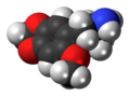 MMDA-2 molecule spacefill.png