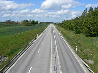 2+1 road - Image: MML Norr 1