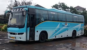 Maharashtra State Road Transport Corporation - MSRTC Volvo Coach