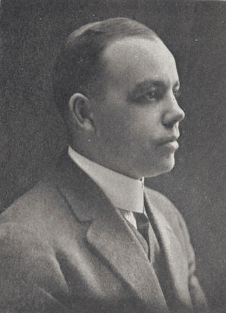 M. B. Banks - Banks pictured in The Quax 1921, Drake yearbook