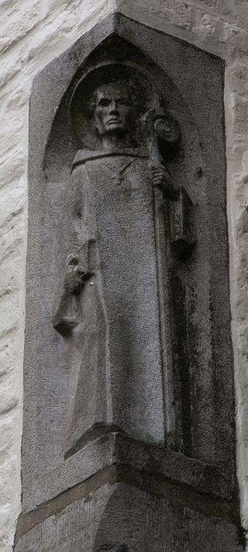 English: Saint Bernard of Clairvaux - Sint Ber...