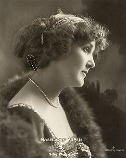 Mabel Van Buren American stage and screen actress