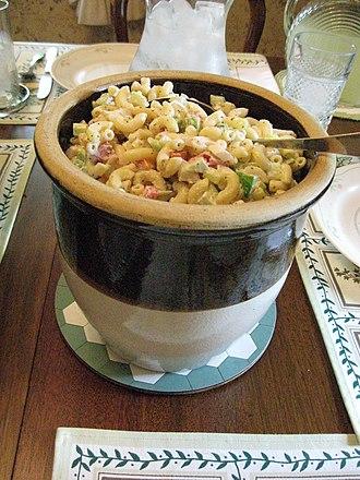 Macaroni salad - Image: Macaroni salad