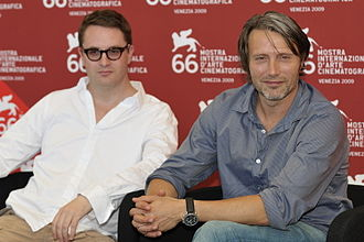 Valhalla Rising (film) - Nicolas Winding Refn and Mads Mikkelsen at the Venice Film Festival for the premiere of the film