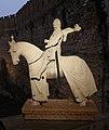 Maestro dell'arca di mastino II, statua a cavallo di cangrande della scala, 1340 ca. 01.jpg
