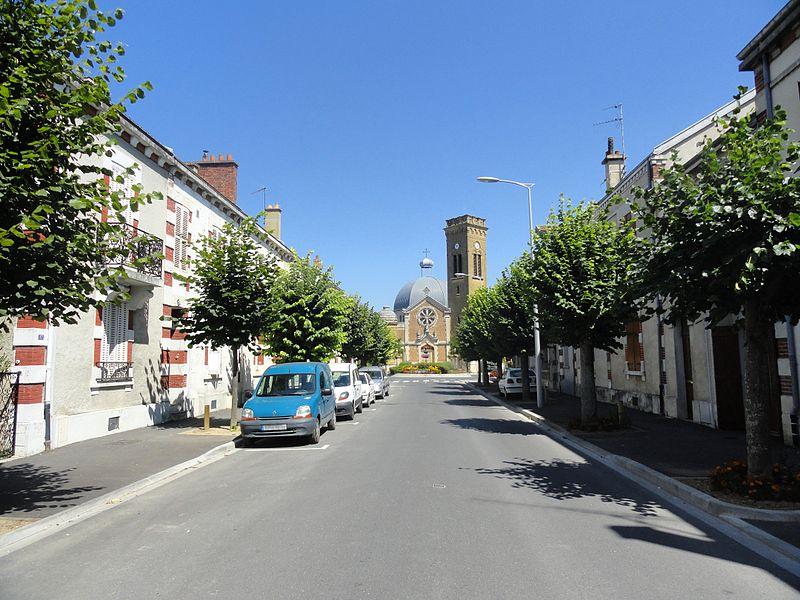 Paul Gravet Street in Magenta, Marne, France.