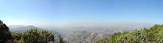 Mahabaleshwar - Panoramic view from Savitri Point, Mahabaleshwar
