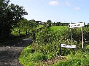 Carnteel - Image: Main Street, Carnteel geograph.org.uk 243962