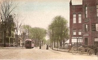 Merrimac, Massachusetts - Merrimac Square in 1911