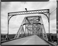 Main span portal, looking north. - Sewickley Bridge, Spanning Ohio River, Sewickley, Allegheny County, PA HAER PA,2-SEW,1-6.tif