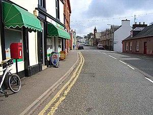 Glenluce - Image: Main street in Glenluce geograph.org.uk 163897