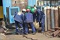 Maintenance work in the refinery1999.jpg