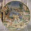 Maiolica di urbino, plutone rapisce proserpina, 1550-74.jpg