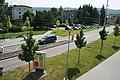 Makovského náměstí, Brno Žabovřesky - silnice.jpg