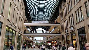 Mall of Berlin - Mall exterior, 2012