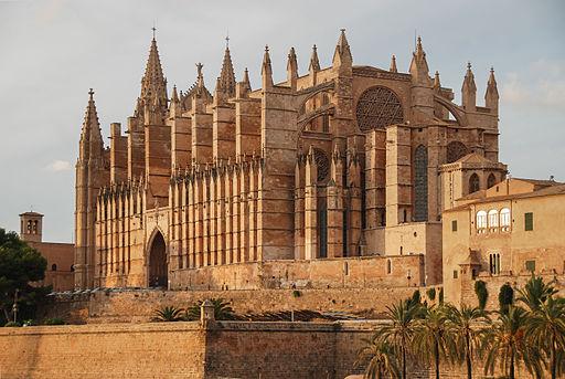 La Seu - Santa Maria in Palma de Mallorca, katedraal 2012