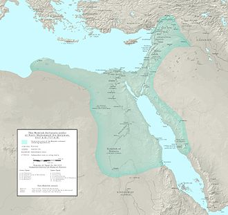Mamluk Sultanate (Cairo) - Extent of the Mamluk Sultanate under Sultan an-Nasir Muhammad