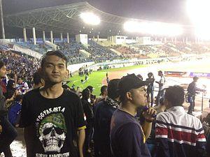 Manahan Stadium - Manahan Stadium, during football match between Persib Bandung vs Mitra Kukar in 2017 Indonesia President's Cup