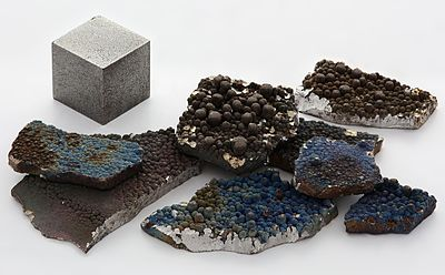 Manganese in various states of processing