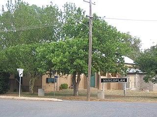 Mangoplah Town in New South Wales, Australia