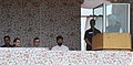 Manmohan Singh addressing at the foundation stone laying ceremony of 850 MW Ratle Hydro-electric Project, at Kishtwar, in Jammu and Kashmir. The Chairperson, National Advisory Council.jpg