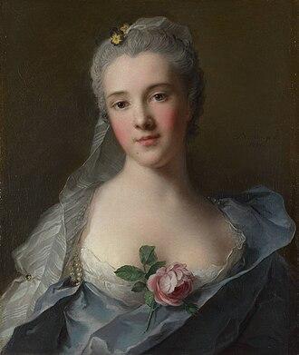 Manon Balletti - Portrait of Manon Balletti by Jean-Marc Nattier (1757), London, National Gallery